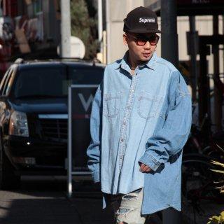 re:new(リニュー)リーバイス ヴィンテージ リメイク ワイド&ビック デニム シャツ<br>re:new Levi's Vintage Remake Big&Wide Shirts 【j】