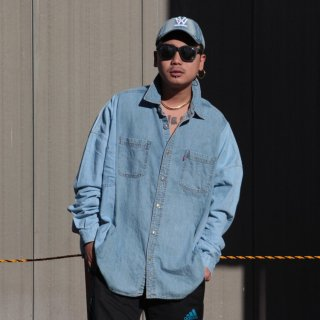 re:new(リニュー)リーバイス ヴィンテージ リメイク ワイド&ビック デニム シャツ<br>re:new Levi's Vintage Remake Big&Wide Shirts 【7】
