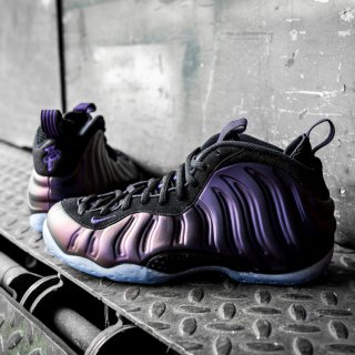 NIKE(ナイキ) エア フォームポジット ワン エッグプラント ハイカット スニーカー<br>NIKE AIR FOAMPOSITE ONE