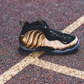 NIKE(ナイキ) エア フォームポジット ワン メタリック カッパー ハイカット カット スニーカー<br>NIKE AIR FOAMPOSITE ONE