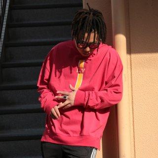 ADVANCE(アドバンス) L.A ロゴ 長袖 Tシャツ<br>ADVANCE L.A LOGO L/S TEE
