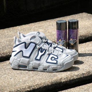 NIKE(ナイキ) エア モア アップテンポ モアテン ミッド カット スニーカー<br>NIKE AIR MORE UPTEMPO QS NYC