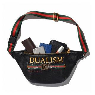 DLSM(ディーエルエスエム) デュアリズム ライン ロゴ  ウエストバック