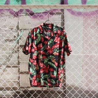 Schott(ショット)ハワイアンシャツ フラミンゴ アロハ 半袖 シャツ<br>Schott HAWAIIAN SHIRT FLAMINGO