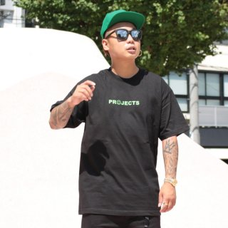 Brooklyn Projects(ブルックリンプロジェクト)ハッピー 半袖 Tシャツ<br>Brooklyn Projects Happy S/S TEE