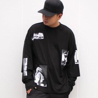 NOT COMMON SENSE(ノット コモン センス) パンク レイヤード 長袖 Tシャツ<br>NOT PANK LAYARD SLEEVE L/S TEE