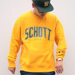 ショット クルーネック スウェット 1913<br>Schott CREW SWEAT Schott 1913