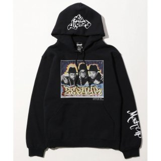 ショット ゼファー ランDMC パーカー フーディー<br>Schott HOODED ZEPHYR & RUN DMC LONGSLEEVE HOODED SWEAT