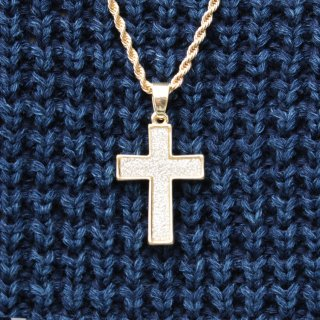 JULY 29(ジュライ トゥエンティー ナイン) クロス トップ チェーン ネックレス スモール<br>JULY 29 CROSS TOP CHAIN NECKLACE