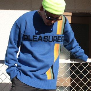 PLEASURES(プレジャーズ)グッド タイム セーター<br> PLEASURES GOOD TIME SWEATER