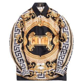 ヴェルサーチェ × キス シルクシャツ<br>Versace × KITH SILK SHIRT