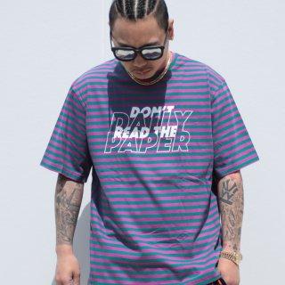 Daily Paper(デイリーペーパー)ストライプ ドアム 半袖 Tシャツ<br>Daily Paper Striped Doam T-shirt