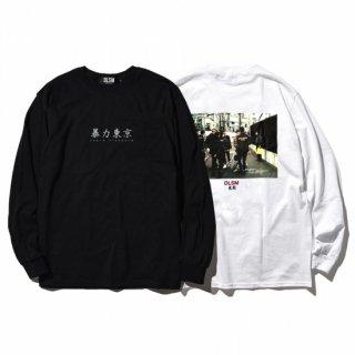 DLSM(ディーエルエスエム)暴力東京 長袖 Tシャツ
