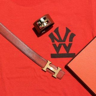ダブルエヌワイシー ヘリテイジロゴ ブランドカラー 半袖 Tシャツ<br>W NYC Heritage Logo Brand Color S/S Tee