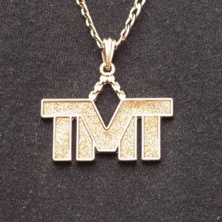 JULY 29(ジュライ トゥエンティー ナイン)TMT トップ ゴールド チェーン ネックレス<br>JULY 29 TMT TOP GOLD CHAIN NECKLACE