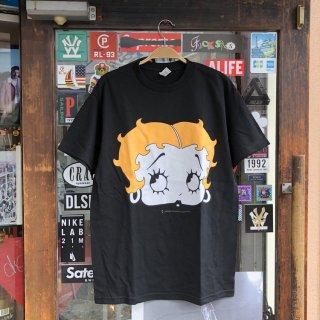 Betty Boop(ベティ ブープ)オリジナル デザイン 半袖 Tシャツ<br>Betty Boop Original Design S/S TEE