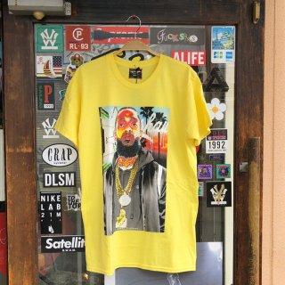 R-MAX(アール マックス)レスト イン ピース ニプシー 半袖 Tシャツ<br>R MAX R.I.P NIPSEY S/S TEE