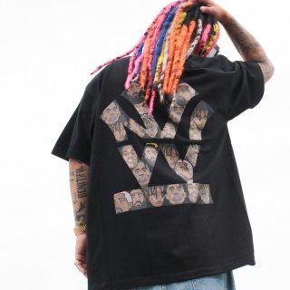 ダブルエヌワイシー オージーキックス コラボ 半袖 Tシャツ<br>-W NYC HERITAGE LOGO S/S TEE-O.Z.Y.K.I.X EXCLUSIVE-