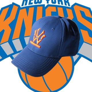 W NYC(ダブルエヌワイシー) ヘリテイジロゴ チームカラー 刺繍 ストラップバック キャップ<br>W NYC HERITAGE LOGO TEAM COLOR STRAPBACK CAP