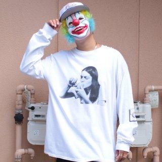 IMAGE CLUB LTD.(イメージクラブ リミテッド)アップル 長袖 Tシャツ<br>IMAGE CLUB LTD. APPLE  L/S TEE