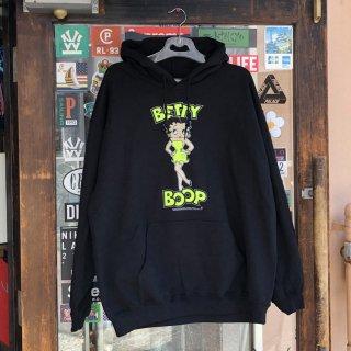 ベティー ブープ プリント デザイン フーディー<br>Betty Boop HOODIE