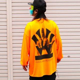 ダブルエヌワイシー ファックロゴ 長袖 Tシャツ<br>W NYC FUCK LOGO L/S TEE