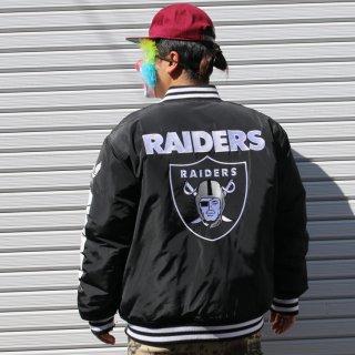 アヴィレックス × NFL レイダース スタジアムジャンパー <br>AVIREX × NFL RAIDERS Stadium jumper