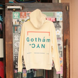 ゴッサム ニューヨークシティ オリジナルロゴ プルオーバーパーカー フーディー<br>GOTHAM N.Y.C. ORIGINAL LOGO HOODIE