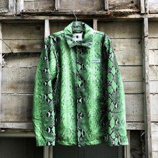 デイリーペーパー  グリーン スネークゴーチジャケット<br>Daily Paper Green Snake Goach Jacket