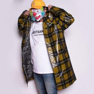 デイリーペーパー イエロー チェック ゲイン コート<br>Daily Paper Yellow Checked Gain Jacket