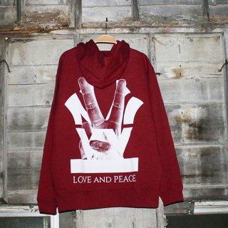 W NYC PEACE LOGO HOODIE<br>ダブルエヌワイシー ピース ロゴ フーディー パーカー