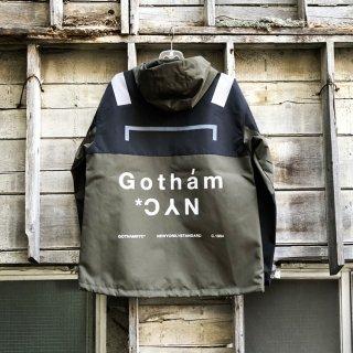 ゴッサム ニューヨークシティ オリジナルロゴ ナイロン ジャケット<br>GOTHAM N.Y.C. ORIGINAL LOGO NYLON JACKET