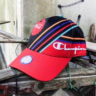 チャンピオン スクリプト ストラップバック キャップ<br>CHAMPION SCRIPT STRAPBACK CAP