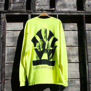 ダブルエヌワイシー ファック ロゴ 長袖 Tシャツ<br>W NYC FUCK LOGO L/S TEE