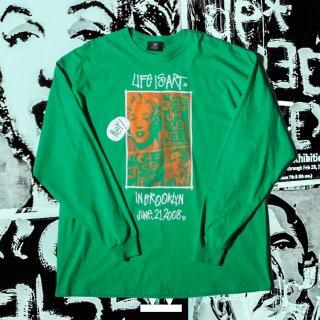 ダブルエヌワイシー ライフ イズ アート 長袖 Tシャツ<br>W NYC LIFE IS ART L/S TEE