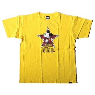 ショット×ディズニー N.Y.C. ロゴ 半袖 Tシャツ<br>SCHOTT×DISNEY N.Y.C. LOGO S/S TEE