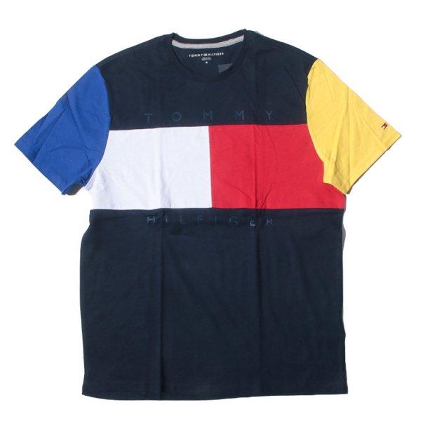 トミーヒルフィガー オリジナルロゴ 半袖Tシャツ<br>TOMMY HILFIGER ORIGINAL LOGO S/S TEE