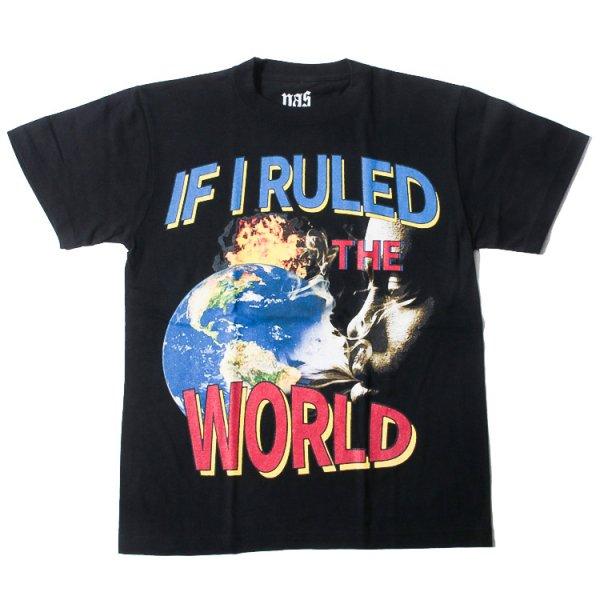 ナズ イフ アイ ルール ザ ワールド 半袖 Tシャツ<br>NAS IF I RULED THE WORLD S/S TEE