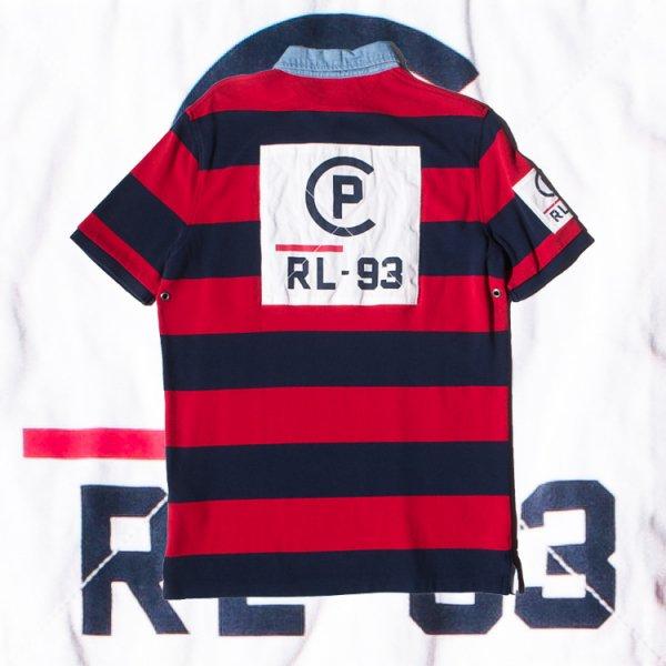 ポロ ラルフローレン CP-93 クラシックフィット メッシュ ラグビー シャツ<br>POLO RALPH LAUREN CP-93 Classic Fit Mesh Rugby Shirt