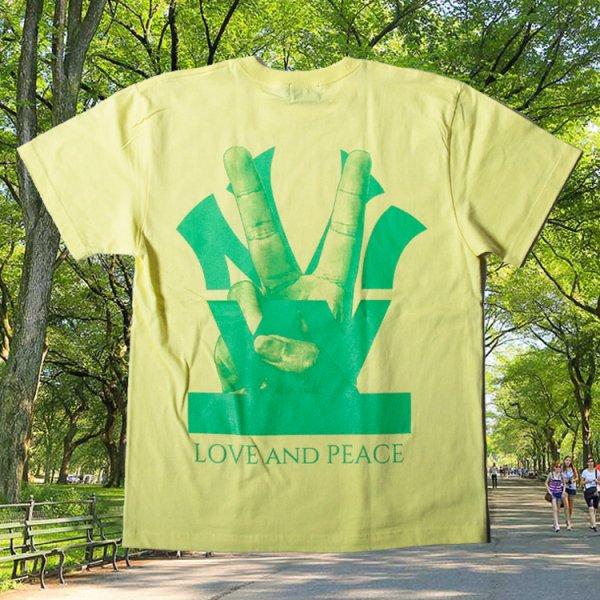 ダブルエヌワイシー ピースロゴ 半袖 Tシャツ<br>W NYC PEACE LOGO S/S TEE