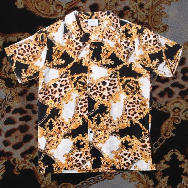 ウェイヴ 総柄 半袖 Tシャツ<br>WEIV ORIGINAL DESIGN S/S SHIRT
