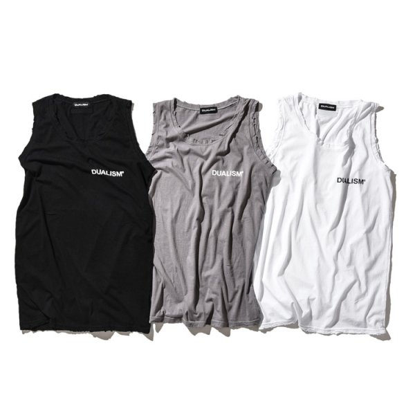 DUALISM DAMAGE TANK TOP