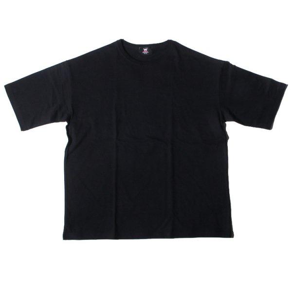 ダブルエヌワイシー ビックシルエット ポケット 半袖 Tシャツ<br>W NYC BIG  LINE POCKET S/S TEE