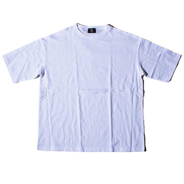 ダブルエヌワイシー ビックシルエット 半袖 Tシャツ<br>W NYC BIG  LINE S/S TEE