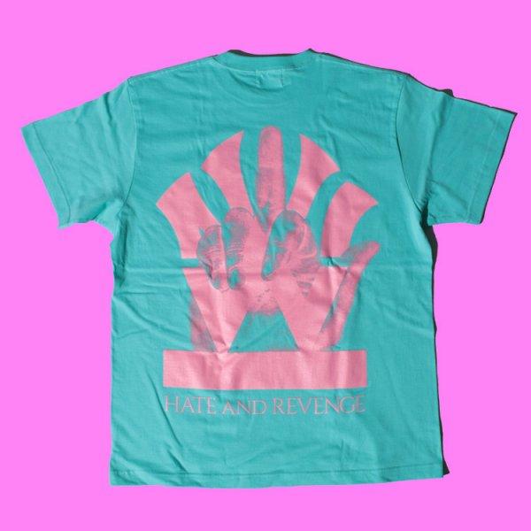 ダブルエヌワイシー ラブ アンド ヘイト ロゴ 半袖 Tシャツ<br>W NYC LOVE&HATE LOGO S/S TEE