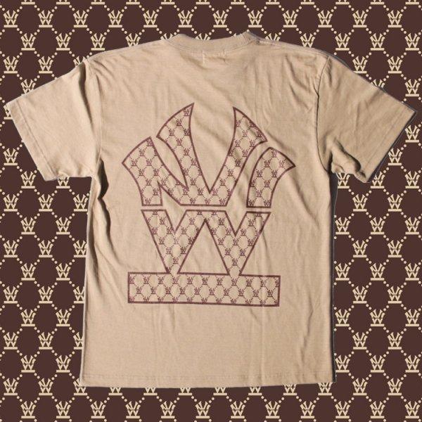 ダブルエヌワイシー ヘリテージロゴ モノグラム 半袖 Tシャツ<br>W NYC HERITAGE LOGO MONOGRAM S/S TEE