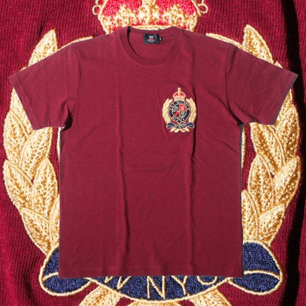 ダブルエヌワイシー エールクレストロゴ 半袖 Tシャツ<br>W NYC YALE CREST LOGO TEE