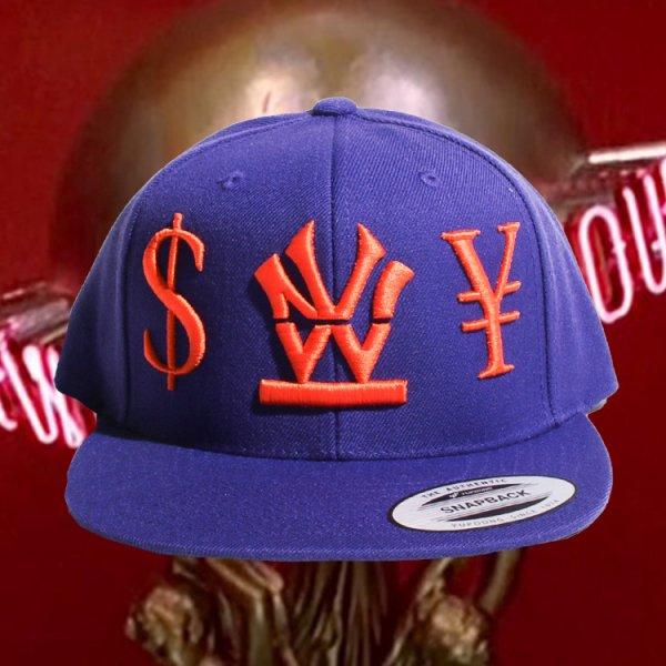 "W NYC HERITAGE LOGO ""DOLLER"" STRAPBACK CAP"
