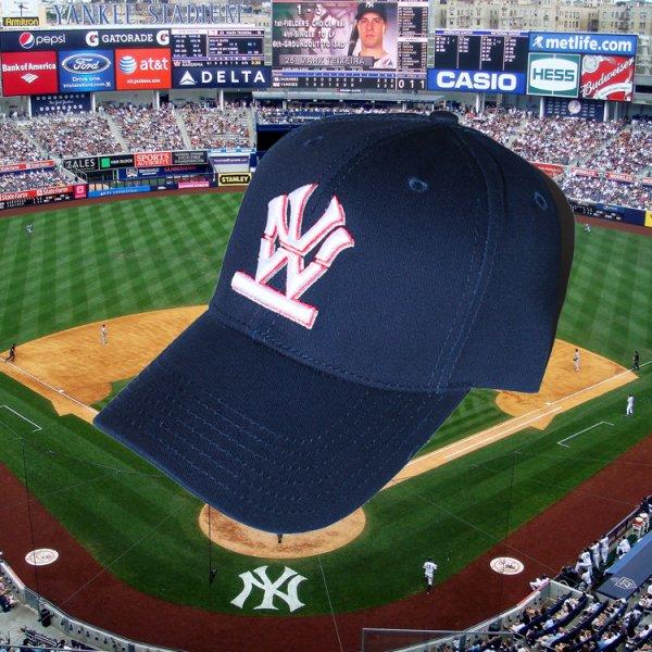 W NYC HERITAGE LOGO STRAPBACK CAP<br>ダブルエヌワイシー ヘリテージ ロゴ ストラップバック キャップ