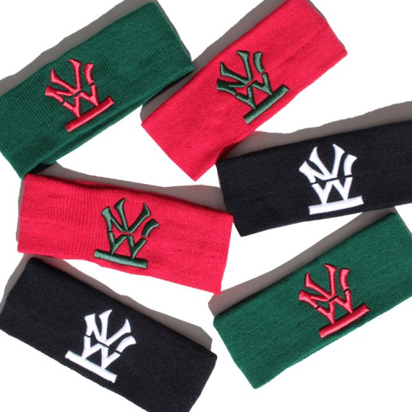 W NYC HERITAGE LOGO HAIR BAND